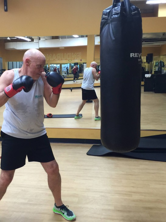 Boxing Lesson with Megan Freedman 2015
