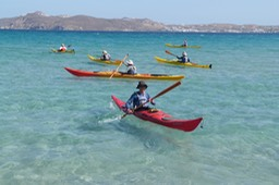 Kayaking in the Cyclades, 2013